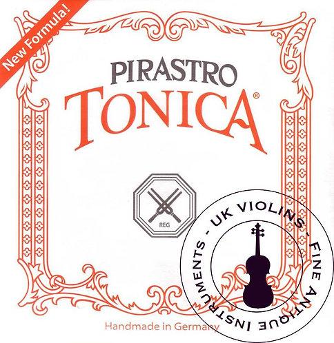 Pirastro Tonica Violin Strings Medium SET