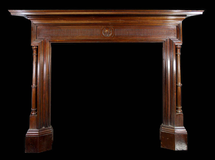 A Fine and Elegant Victorian Wooden Fire Surround