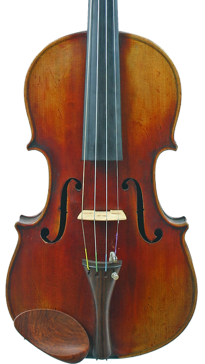 Early 1900s German Violin, 1720 Stradivarius Copy