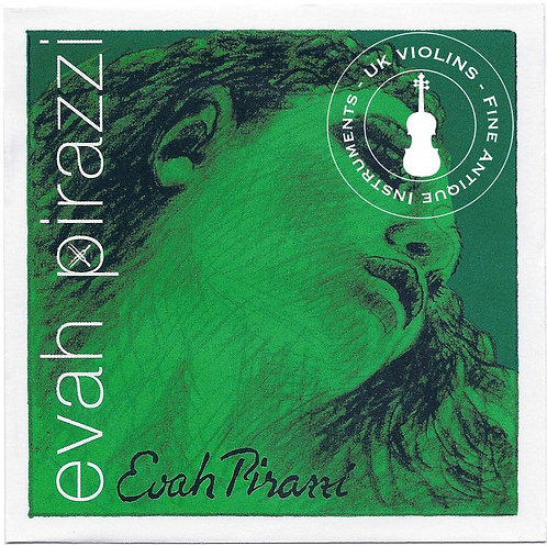Evah Pirazzi Violin Strings 4/4 Ball End Medium SET