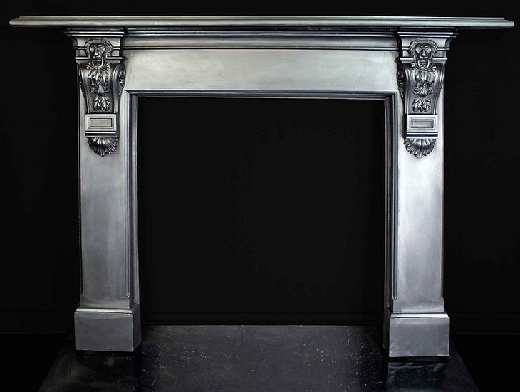 A Very Rare 19th Century Cast Iron Surround