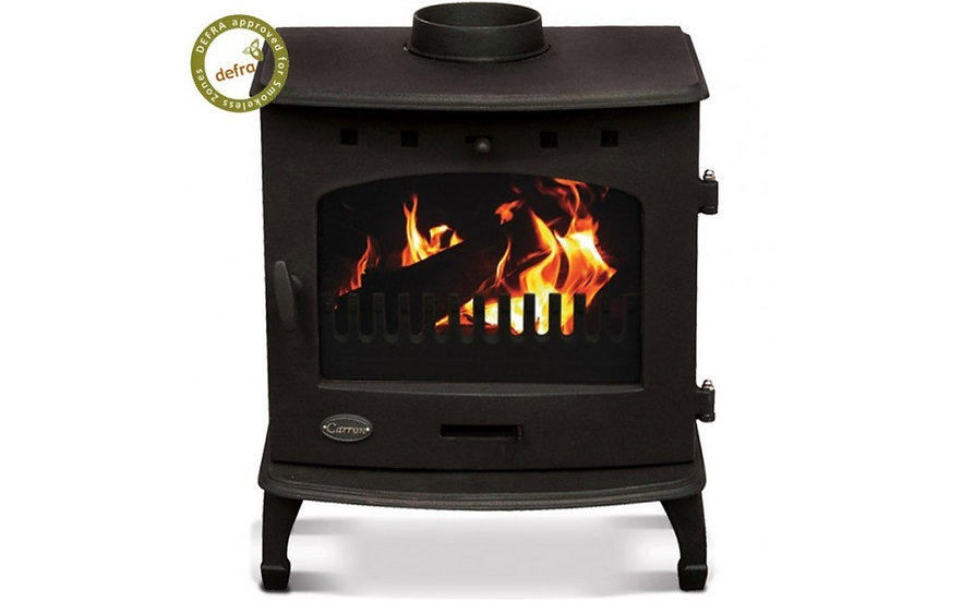 Carron 7.3 kW Stove Matt Black