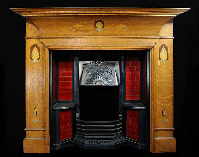 Fine Surround in the Manner of C R Mackintosh