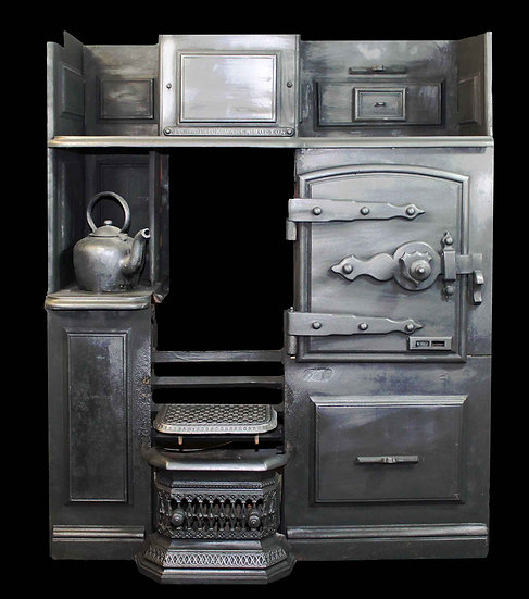 Original Cast Iron Victorian Range