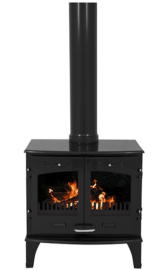 Carron 11 kW Stove Matt Black