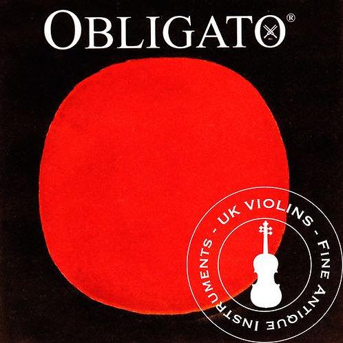 Pirastro Obligato Violin Strings Medium 4/4 SET