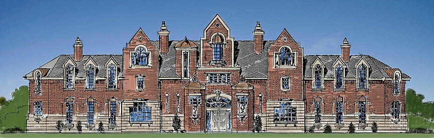 Tudor Grand Mansion Castle Plan Design.j