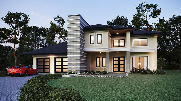Contemporary modern luxury house Florida
