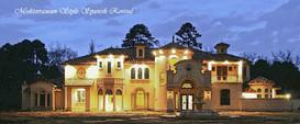Mediterranean Revival Spanish Style luxu