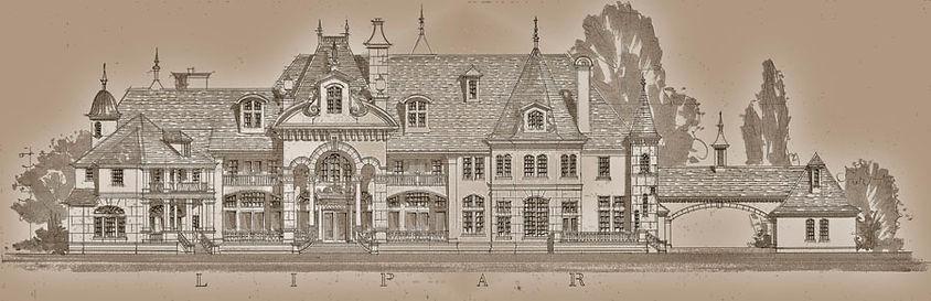 Castle Mansion plans luxury homes bluepr