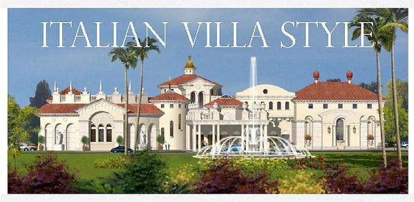 Mediterranean Italian Villa Style Mansio