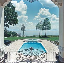 Lake front mansion in Orlando