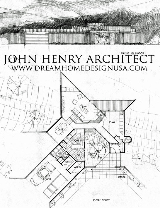 Architect_Modernist House Design Plans B