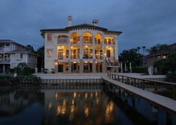 Gulf Coast Italian Villa at 10,000 SF