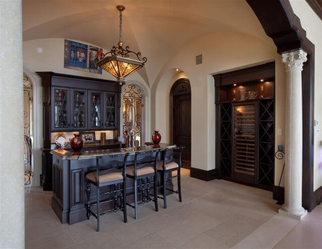 Wine cellar in French style house.jpg