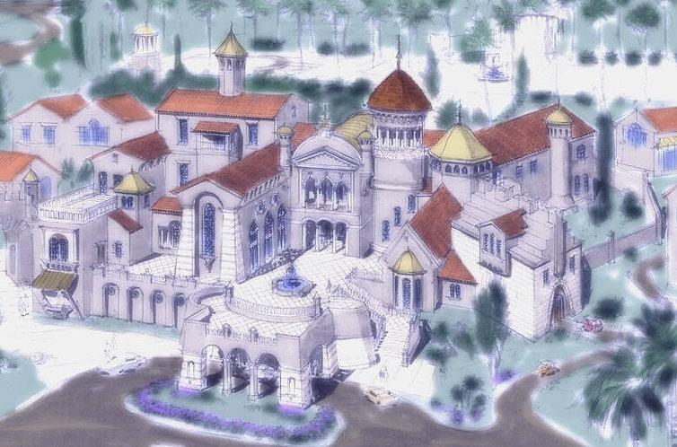 Spanish Castle 25,000 SF Mediterranean.j