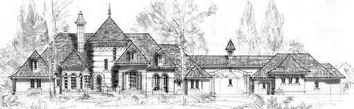 French Norman style lakefront house .jpg