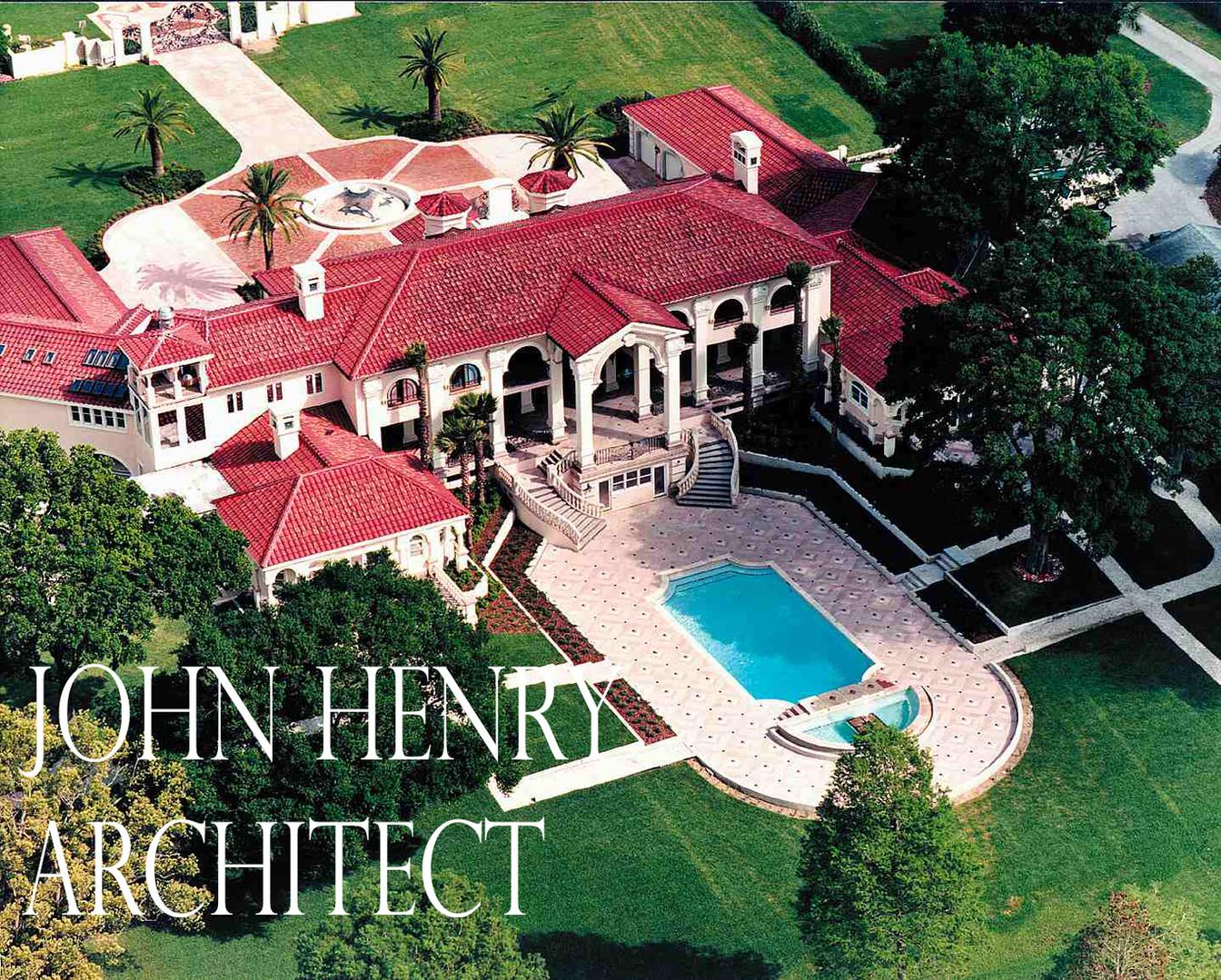 John Henry Architect luxury waterfront r
