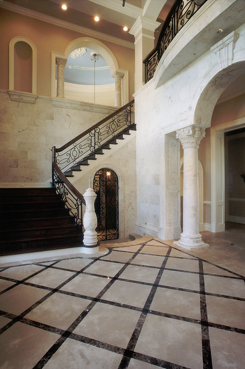 Foyer French Country Stair.jpg