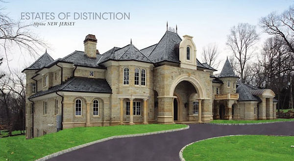 Beautfiul french country manor architect