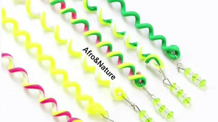 Bijoux Cheveux  Fantaisies Pop Colors