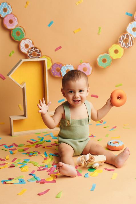 Фотосъёмка первого дня рождения