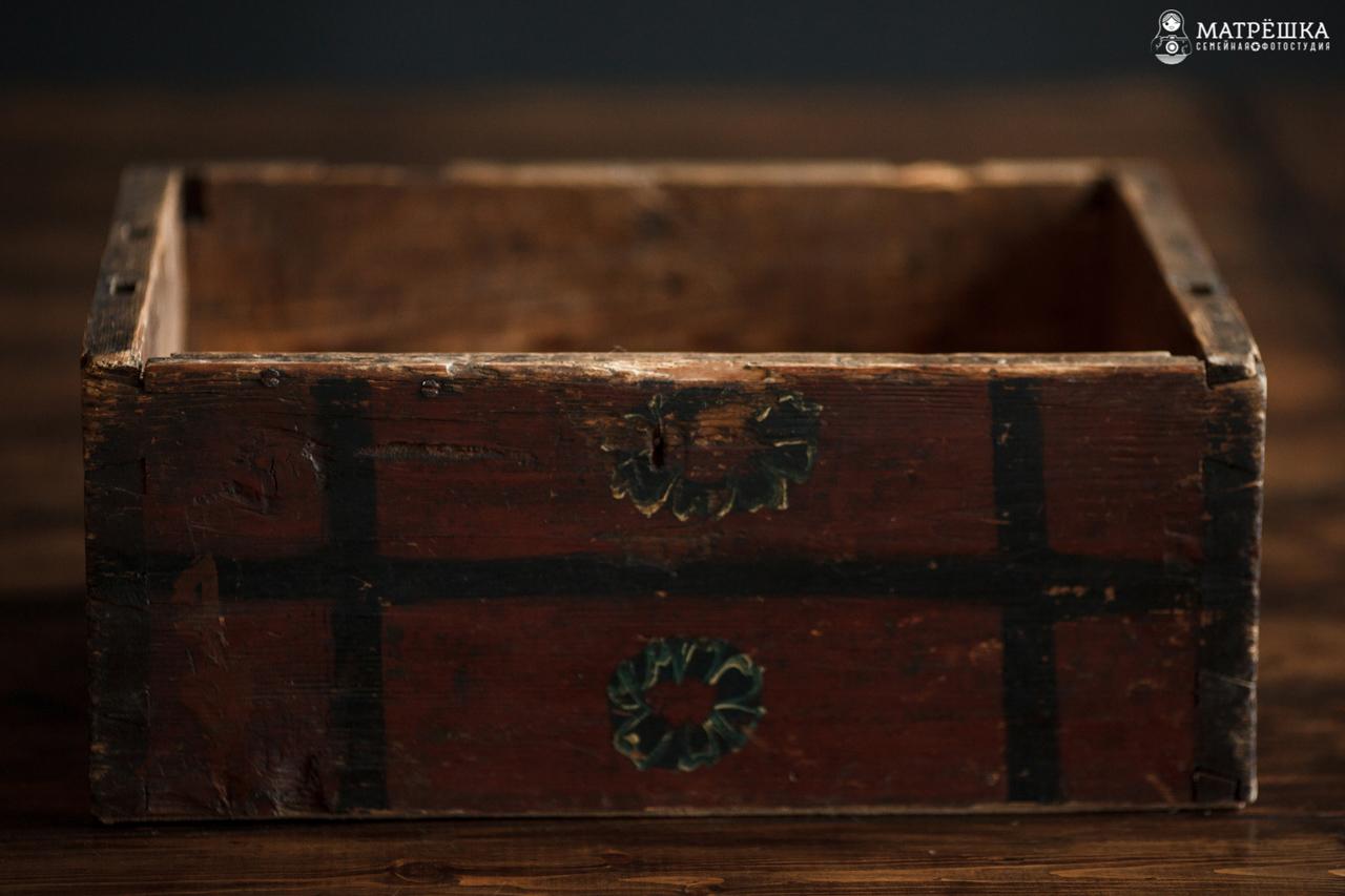 Ящик для фотосъёмки новорожденного