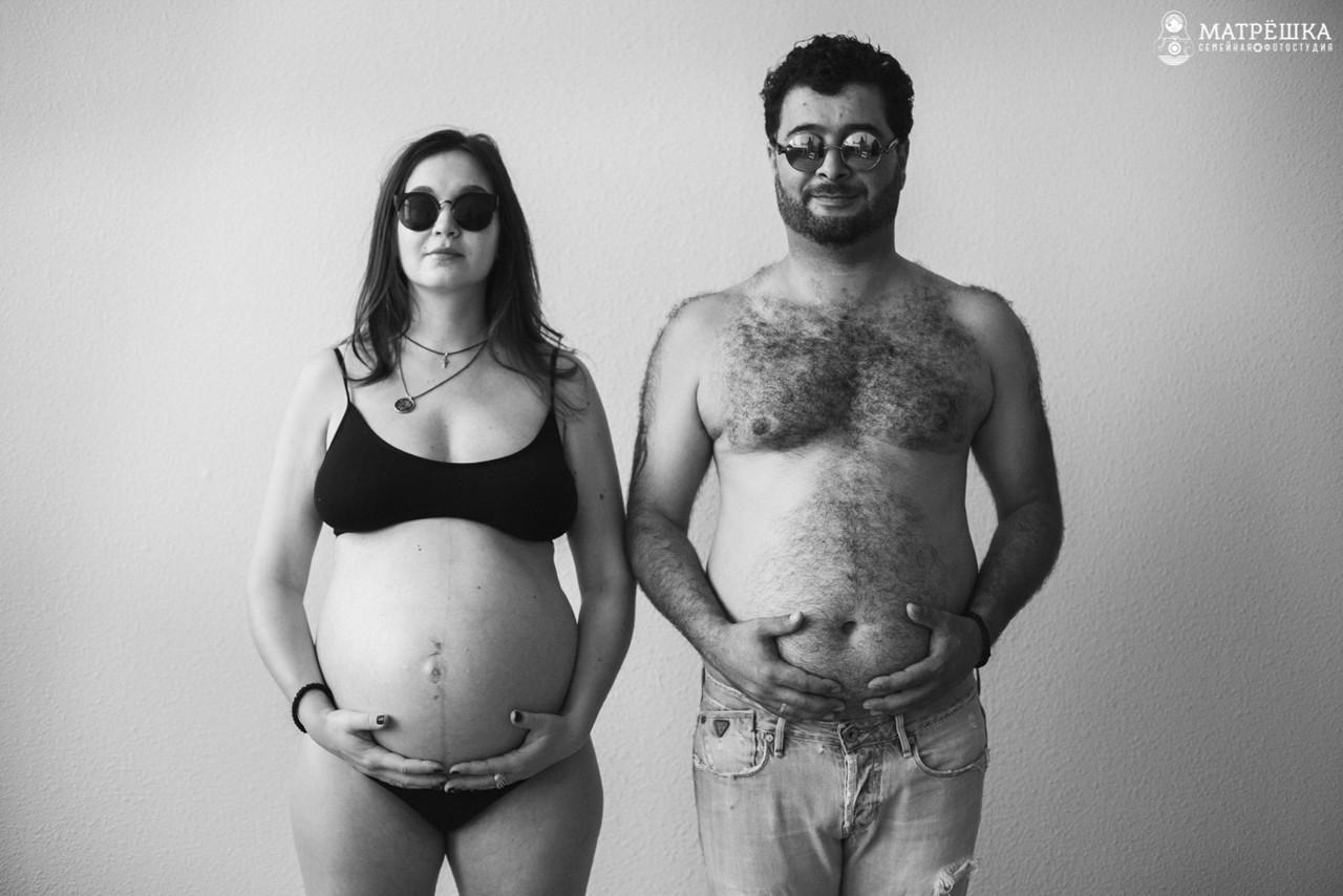 идеи для фотосессии беременности в студии