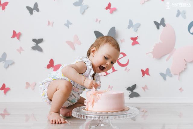 Фотосъёмка мой первый тортик