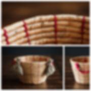 Корзинка от оздушного шара для фотосъёмок ньюборн