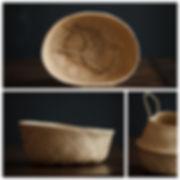 Корзинка плетёная мягкая  для фотосъёмки новорожденных