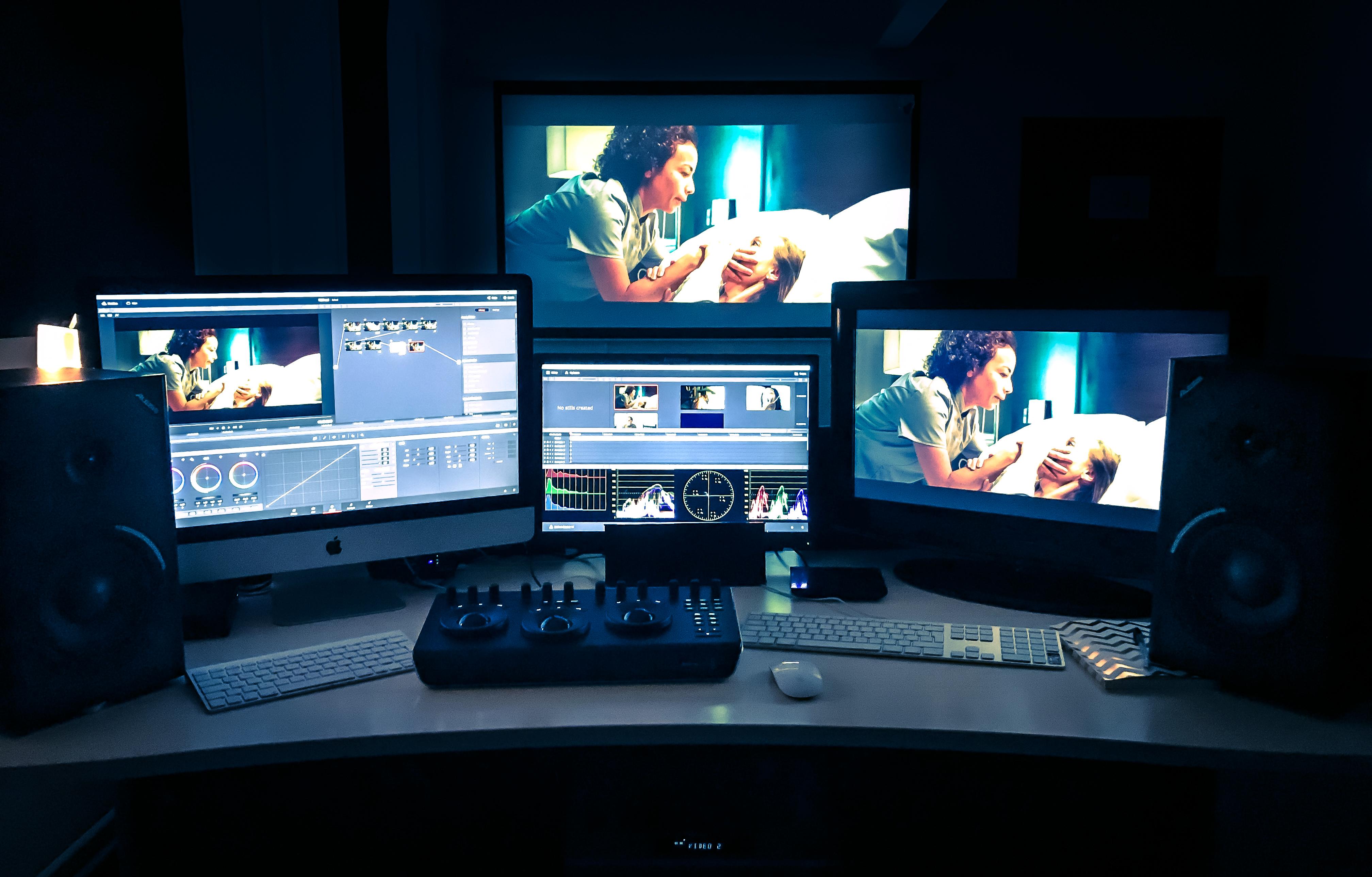 Daniel Alexander Films Grading Suite