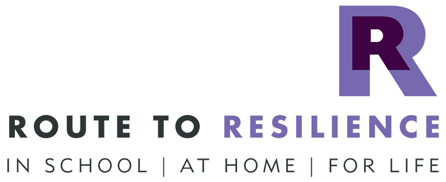 Route to Resilience In School At Home For Life logo