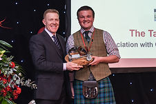 Tam Tod Trophy Winner Alasdair Davidson