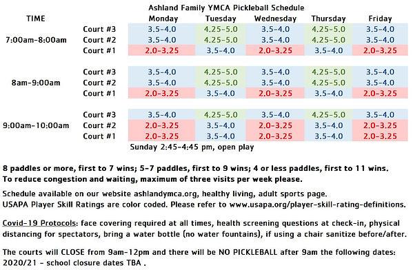10.2020 YMCA Pickleball schedule.JPG