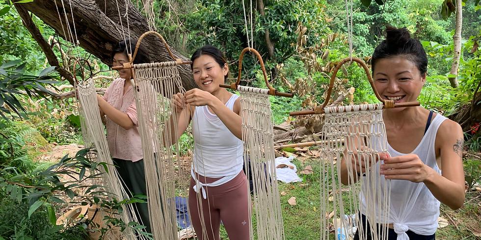 Drum Bag Weaving Workshop