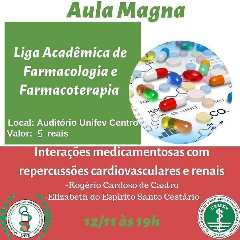 Aula Magna - Liga Acadêmica de Farmacologia e Farmacoterapia