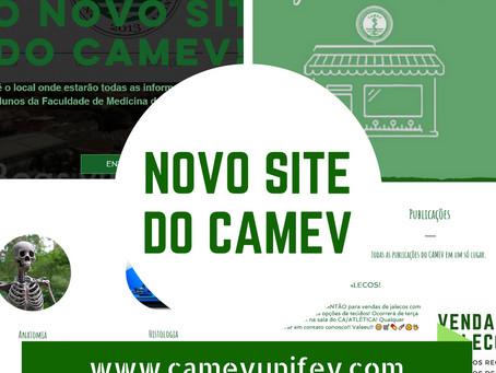 Lançamento novo site do CAMEV