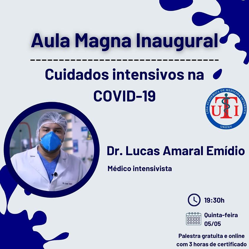 Aula Magna: Cuidados intensivos na COVID-19