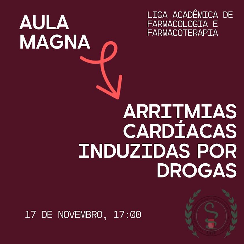 Aula Magna: Arritmias cardíacas induzidas por drogas