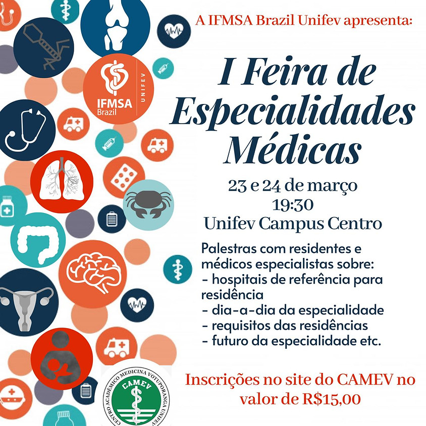 I Feira de Especialidades Médicas