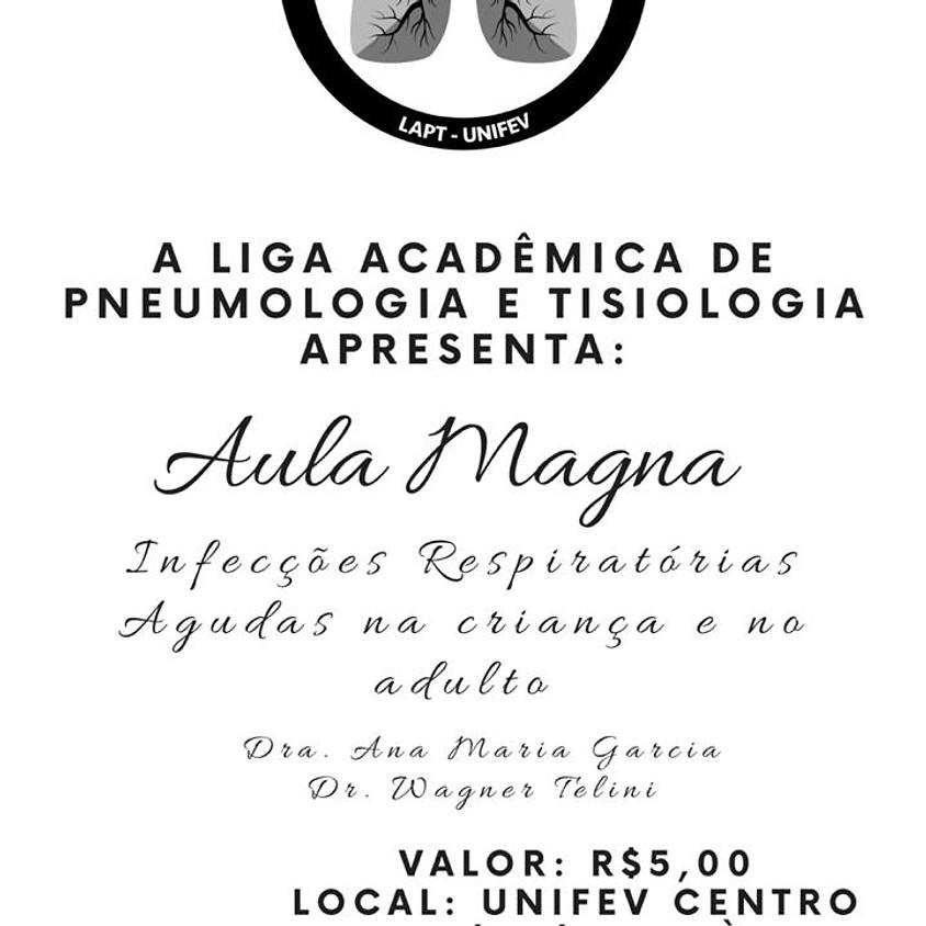 Aula Magna - Liga Acadêmica de Pneumologia e Tisiologia
