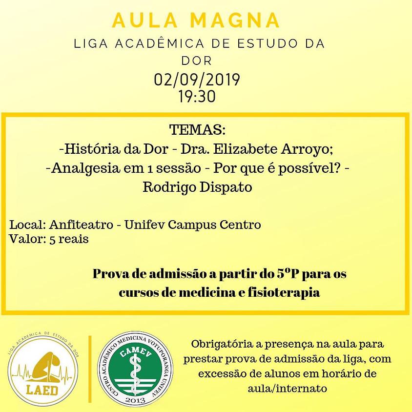 Aula Magna - Liga Acadêmica de Estudo da Dor