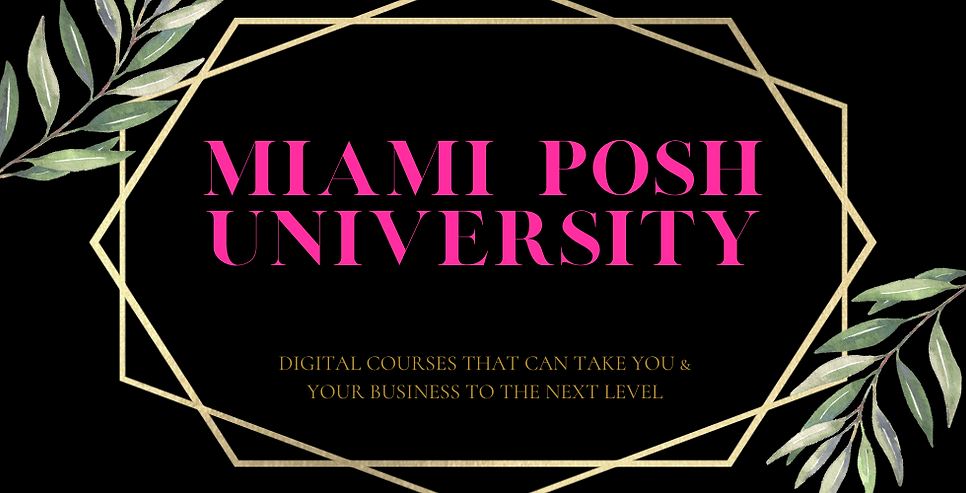 Miami Posh University wix banner 980x500