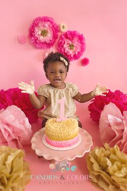 Annapolis Cake Smash Photographer