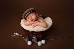 Baby Golf Photo