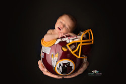 Washington Football Team Newborn Photo