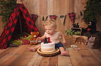 First Birthday Cake Smash - Savage Mill
