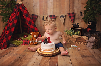 First Birthday Cake Smash - Savage Mill