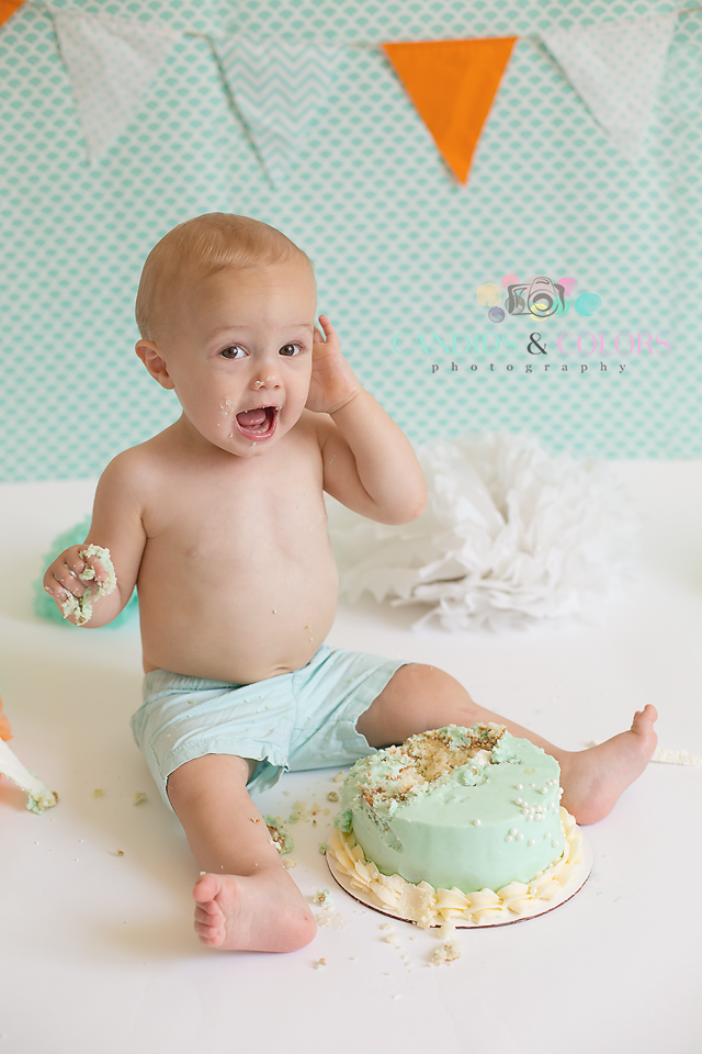 Fort Meade Cake Smash Photographer